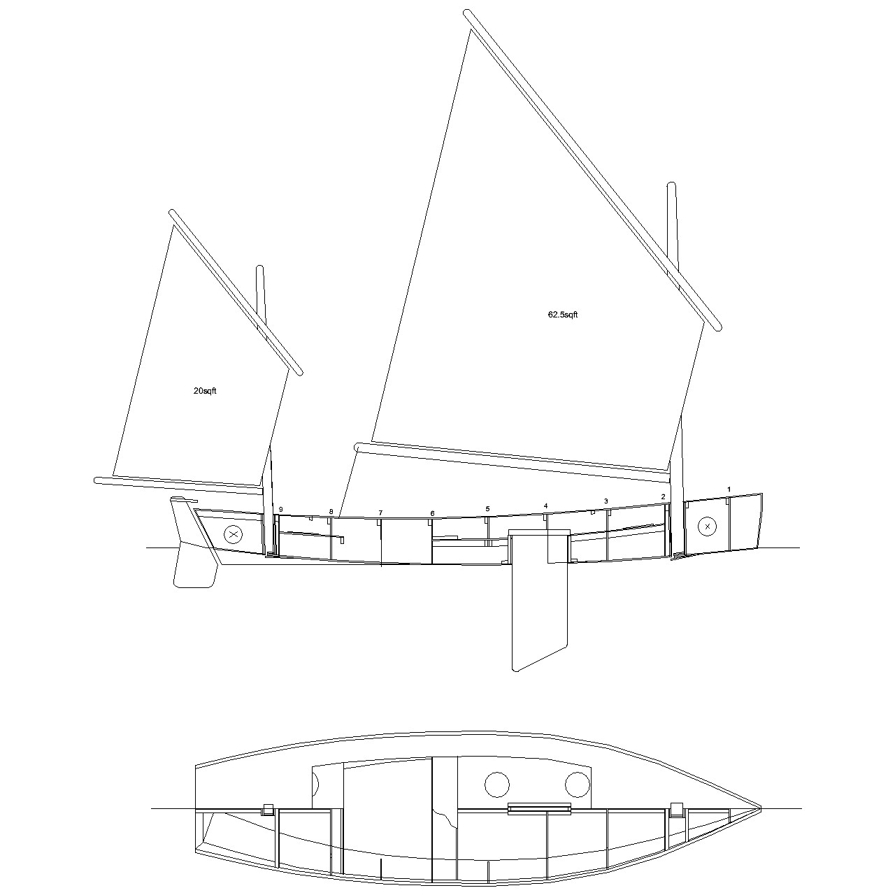 Light Trow Mk 2 – drawings for making a model ...