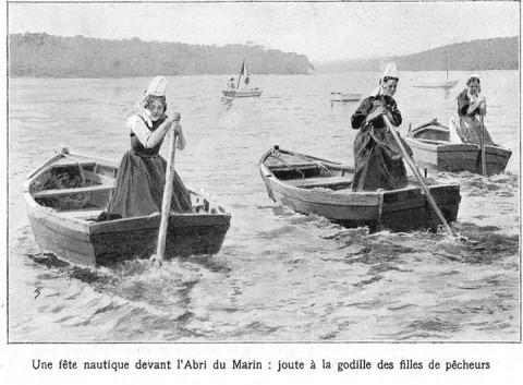 Breton ladies sculling – intheboatshed.net